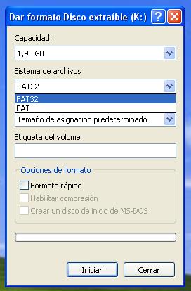 ventanaxpfat32