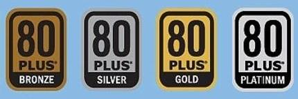 80Plus Bronze - Silver - Gold - Platinum