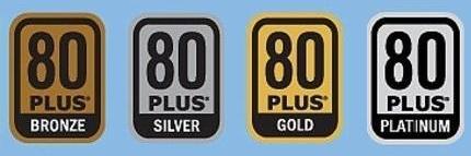 80Plus Bronze - Silver - Gold - Platinum